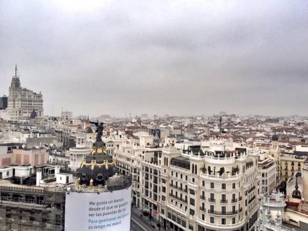 Círculo de Bellas Artes, Madrid Azotea Terraza