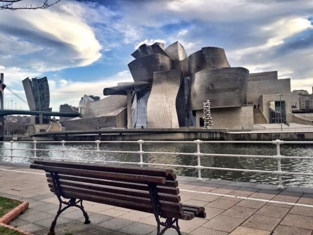Bilbao Basque Country Vizcaya Pais Vasco Guggenheim planes en Bilbao
